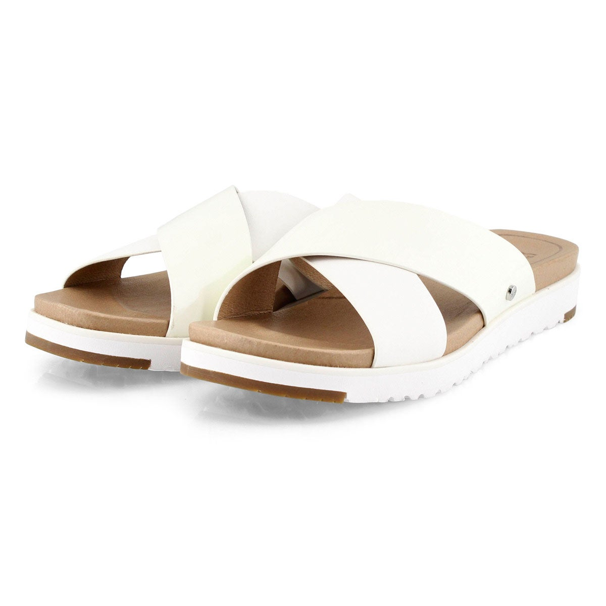 Women's Kari Casual Slide Sandal - White