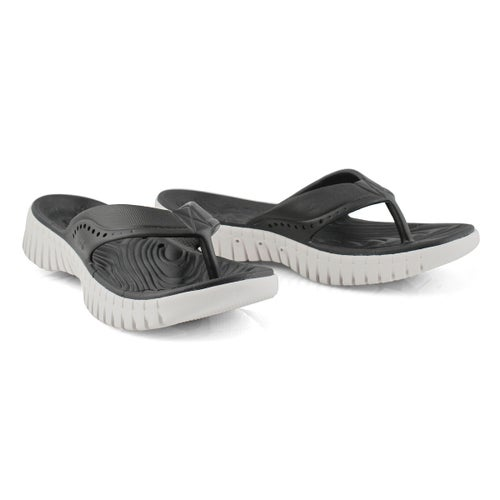 Sandale tong, Go Walk Smart, noir, femme