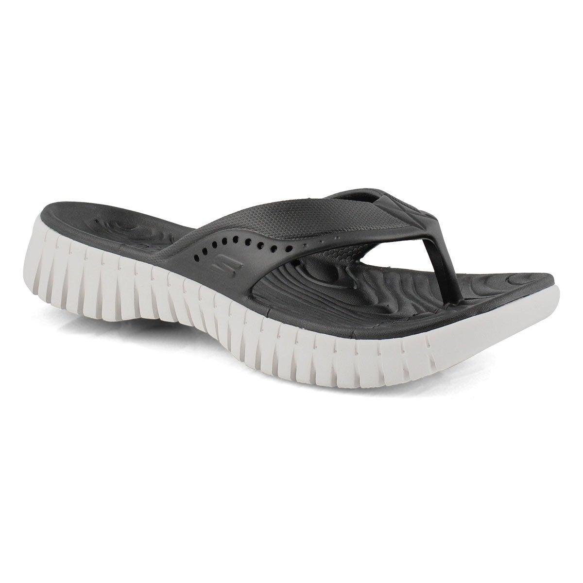 Women's Go Walk Smart Sandal - Black/White