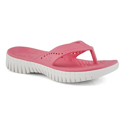 Lds Go Walk Smart coral thong sandal