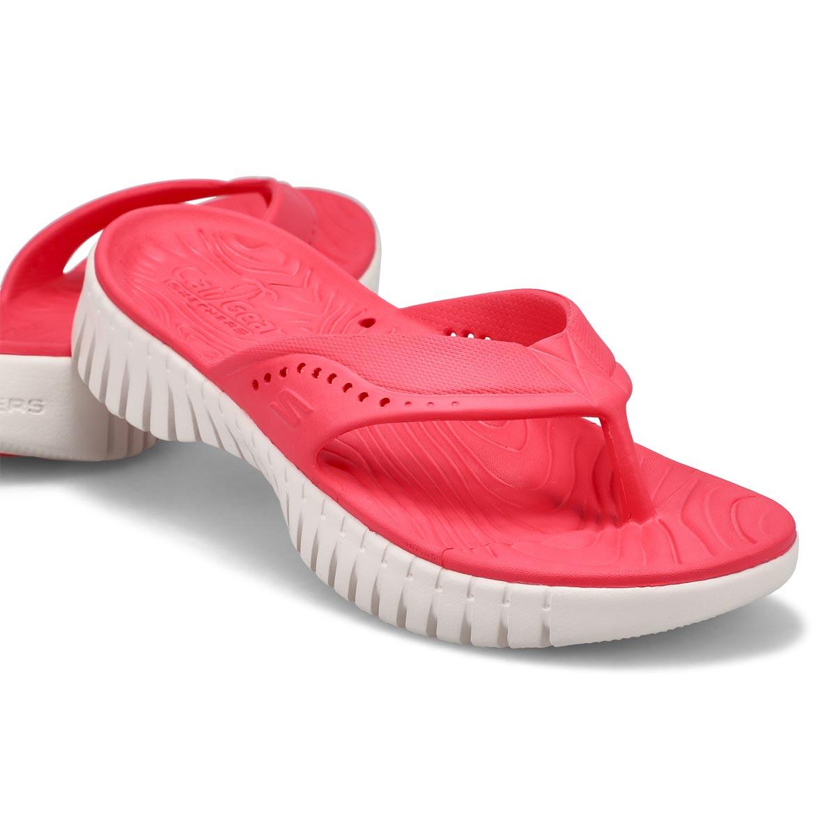 Women's Go Walk Smasrt Sandal - Coral
