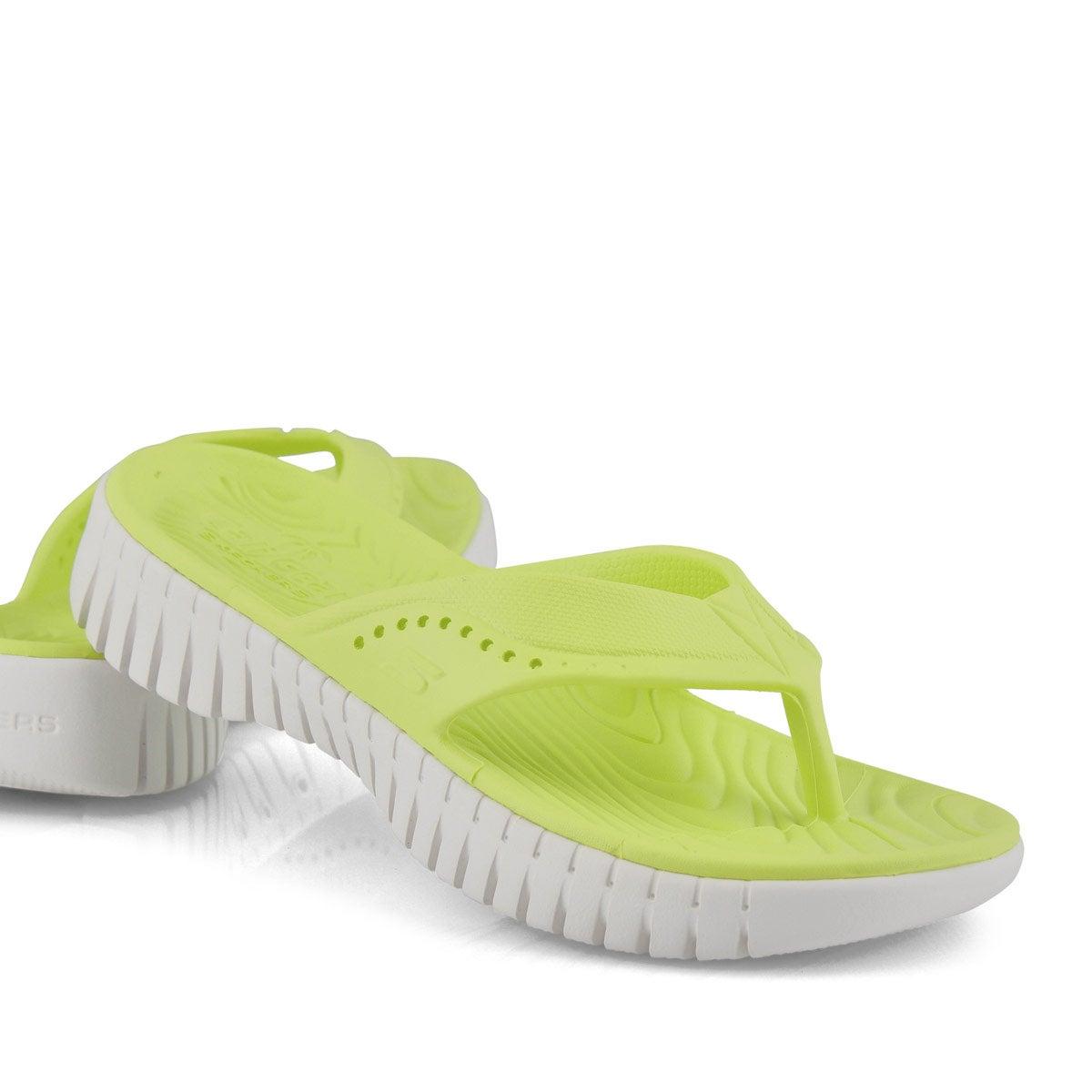 Women's Go Walk Smart Sandal - Lime