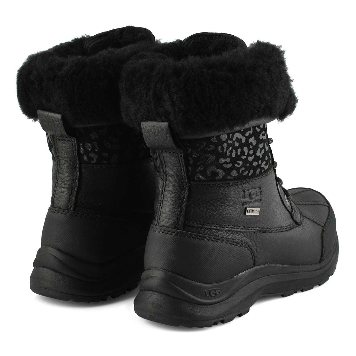 Bottes ADIRONDACKIII, léopard/neige, noir, femmes