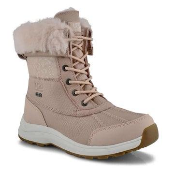 Women's ADIRONDACK III Snow Leopard quartz boots