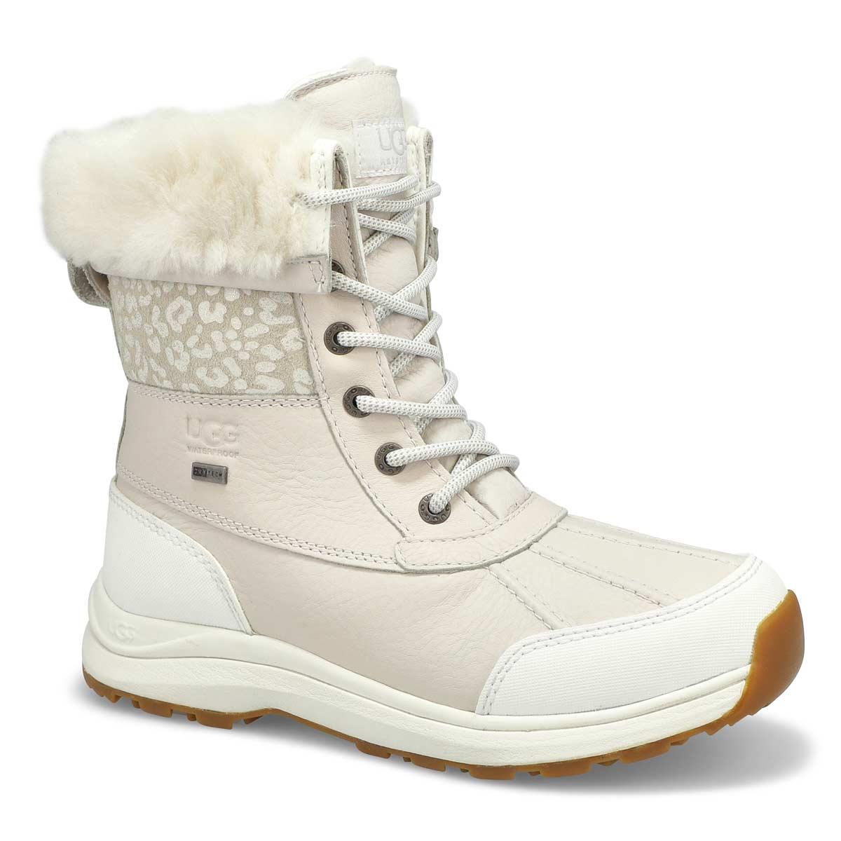 Bottes ADIRONDACKIII, léopard/neige blanc, femmes