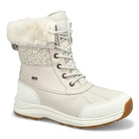 Women's Adirondack III Snow Leopard Boot - White