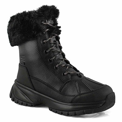 Women's YOSE FLUFF black winter boots