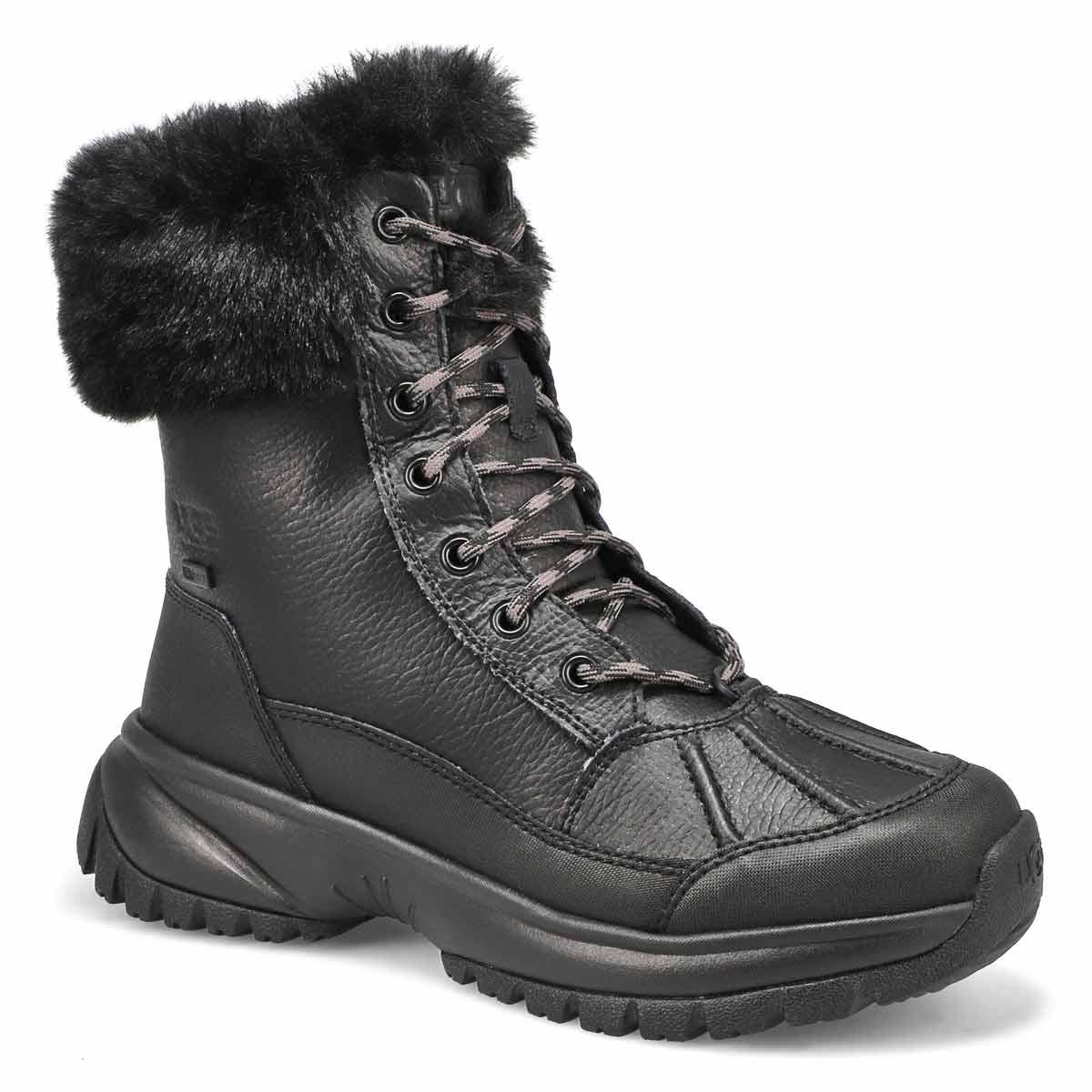 Bottes d'hiver YOSE FLUFF, noir, femmes