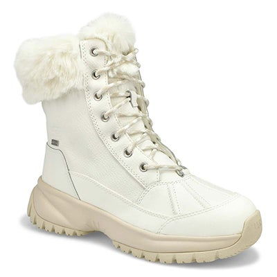 Lds Yose Fluff white winter boot