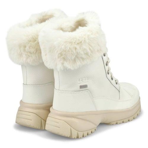Lds Yose Fluff white winter boot