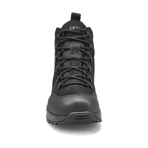 Mns Emmett Mid black ankle boot