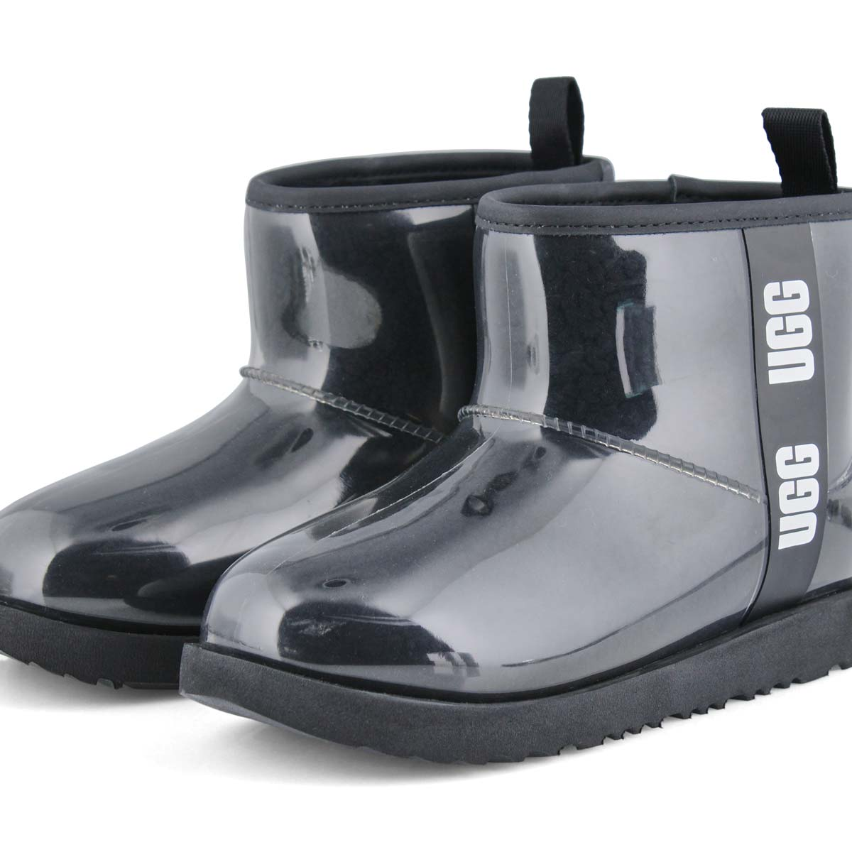Girl's Classic Clear Mini II Fashion Boot - Black