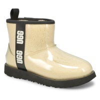 Girl's Classic Clear Mini II Fashion Boot - Nat/Bk