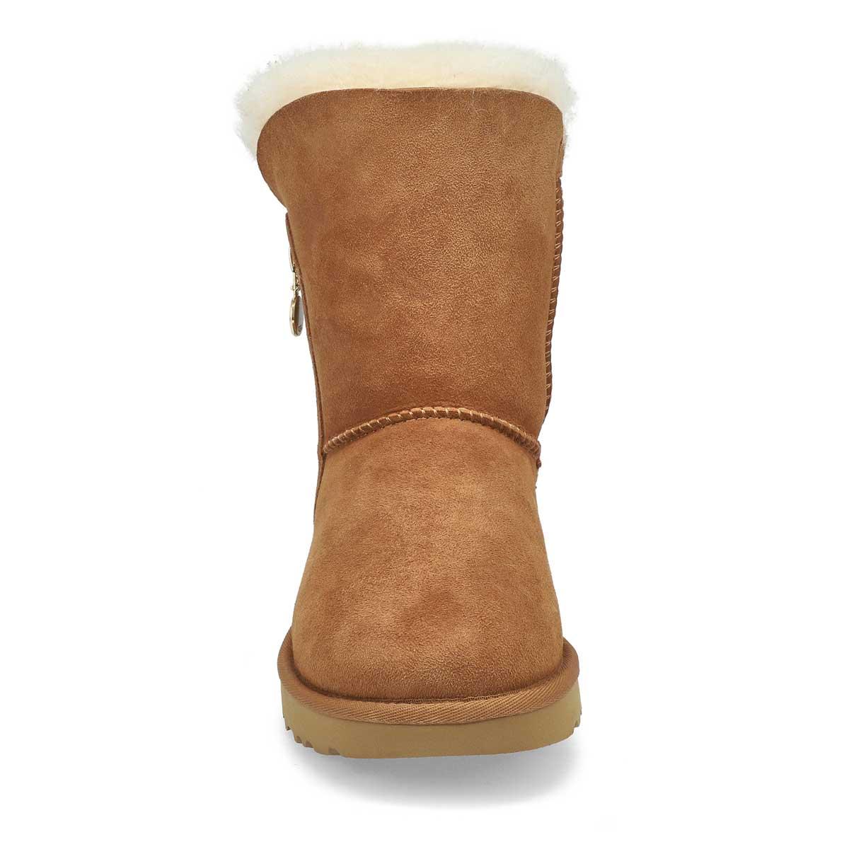 Lds Bailey Zip Short chesnut boot