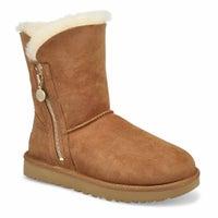 Women's Bailey Zip Short Boot - Chestnut