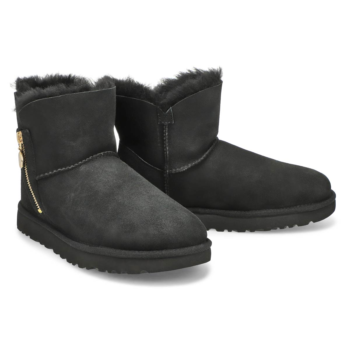 Lds Bailey Zip Mini black boot