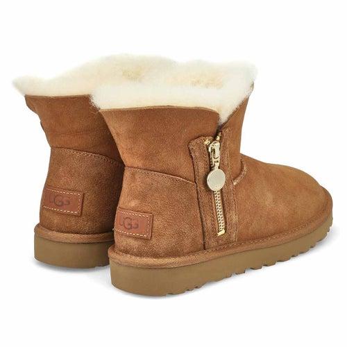 Lds Bailey Zip Mini chesnut boot