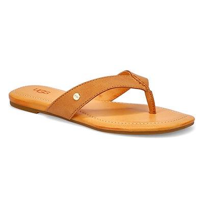 Lds Tuolumne Thong Sandal - Almond