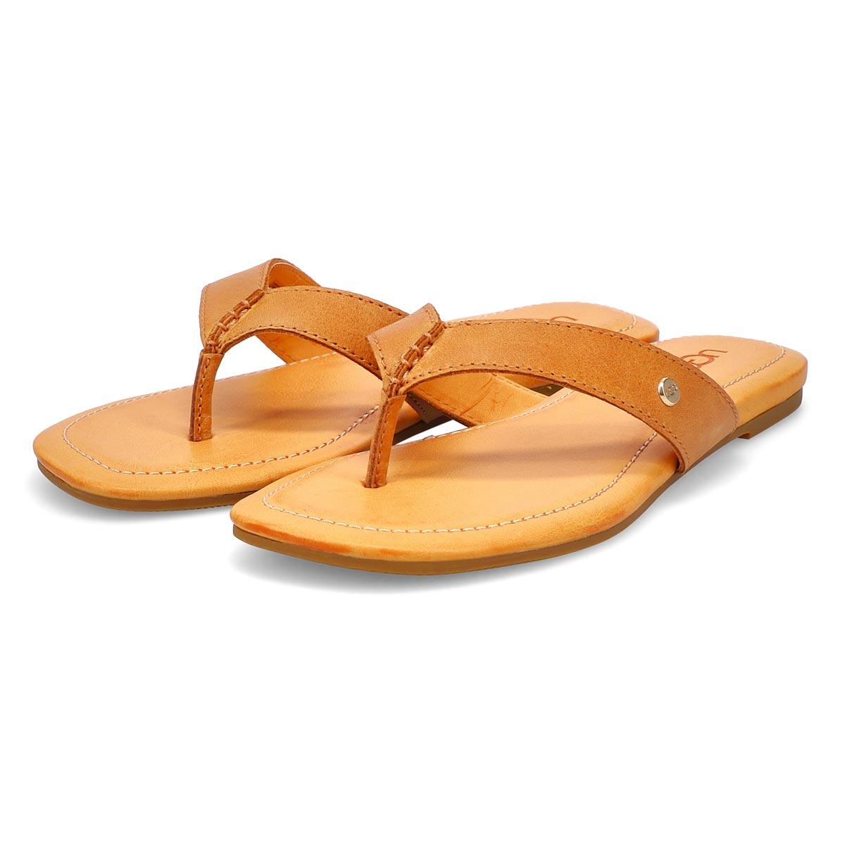 Women's Tuolumne Thong Sandal - Almond