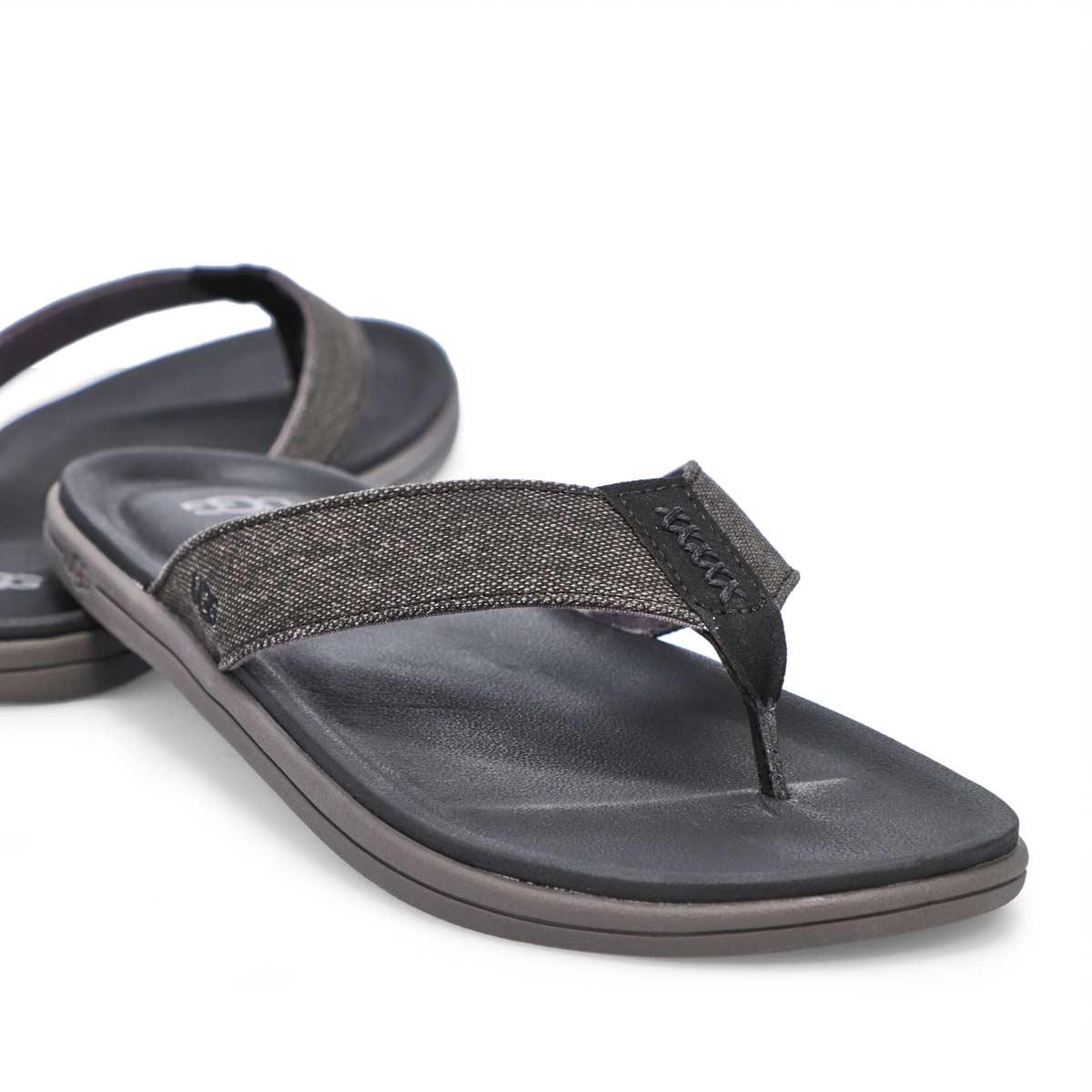 Men's Brookside Flip Thong Sandal - Black