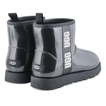 Women's Classic Clear Mini Boot - Black