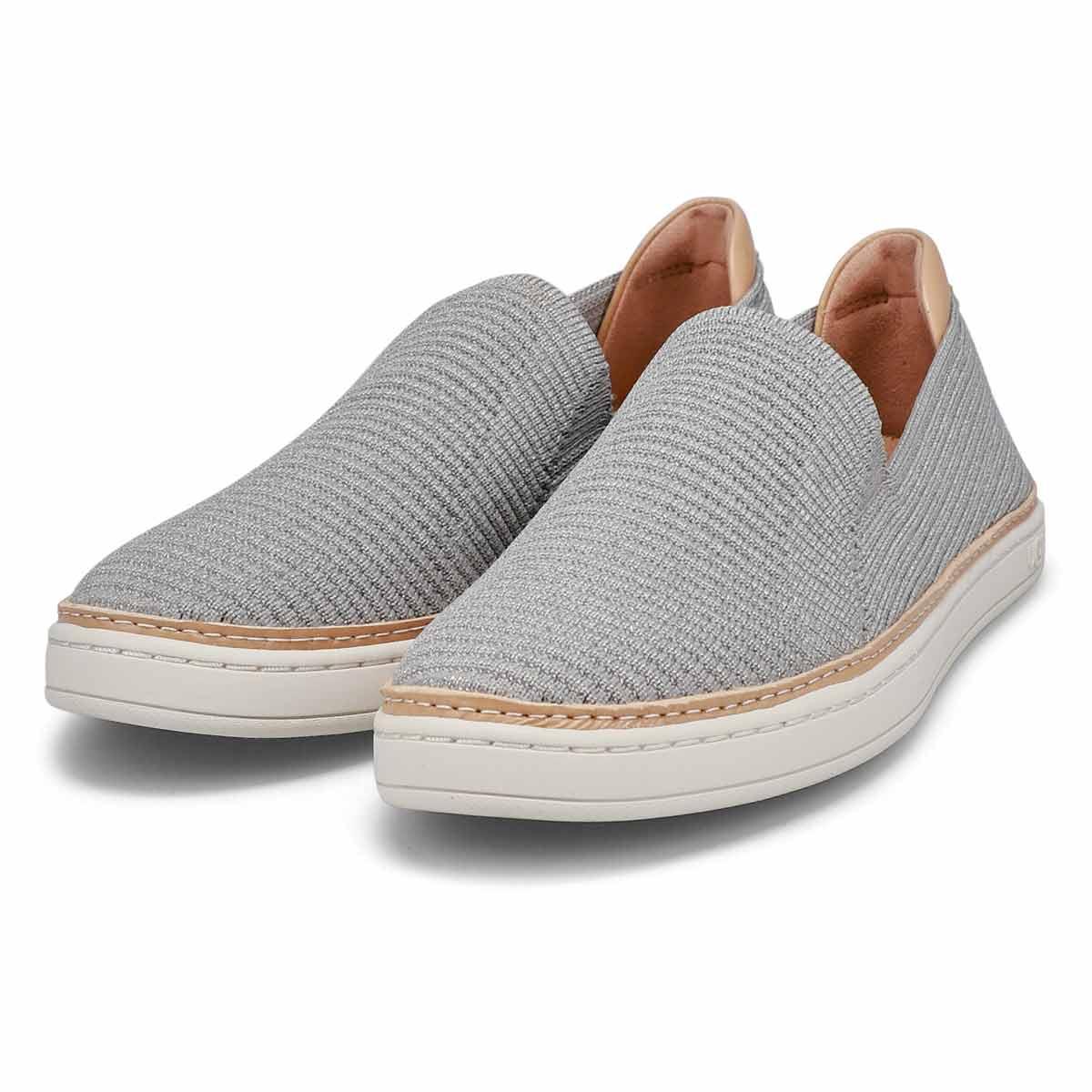 Women's Sammy Casual Slip On Shoe - Seal/Silver