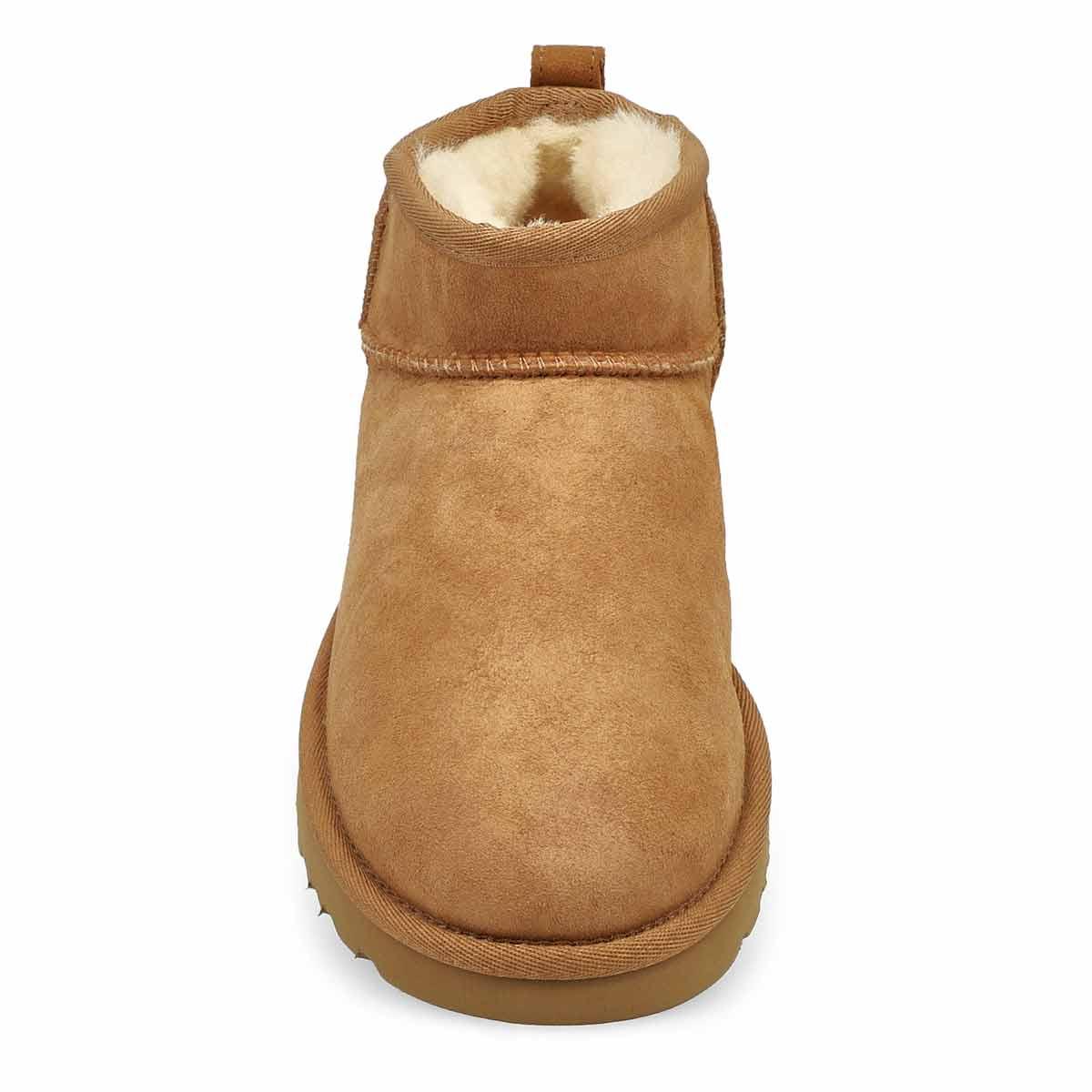 Women's Classic Ultra Mini Boot - Chestnut