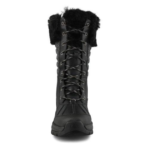 Lds Yose Tall Quilt black winter boot