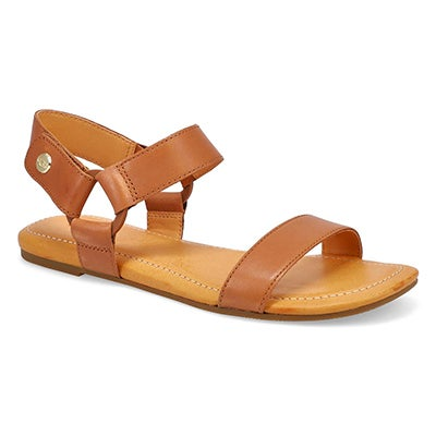 Lds Rynell tan casual sandal