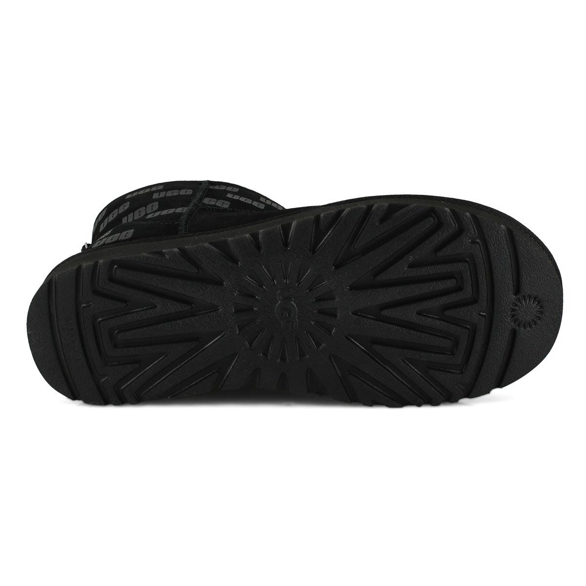 Women's Classic Mini II UGG Print Boot - Black