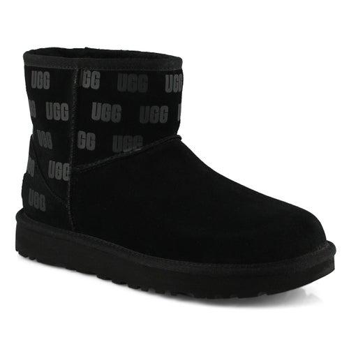Lds Classic Mini II UGG Print black boot