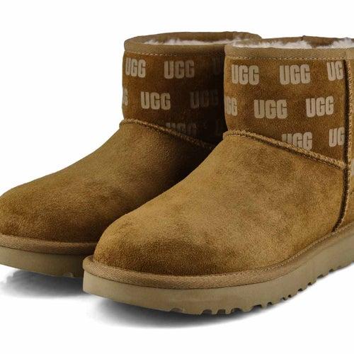 Lds Classic Mini II UGG Print ches boot