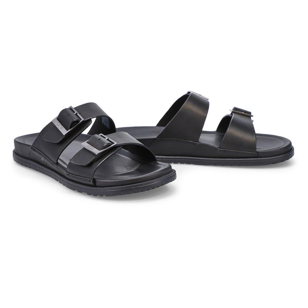 Men's Wainscott Buckle Slide Sandal - Black