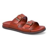 Men's Wainscott Buckle Slide Sandal - Cognac