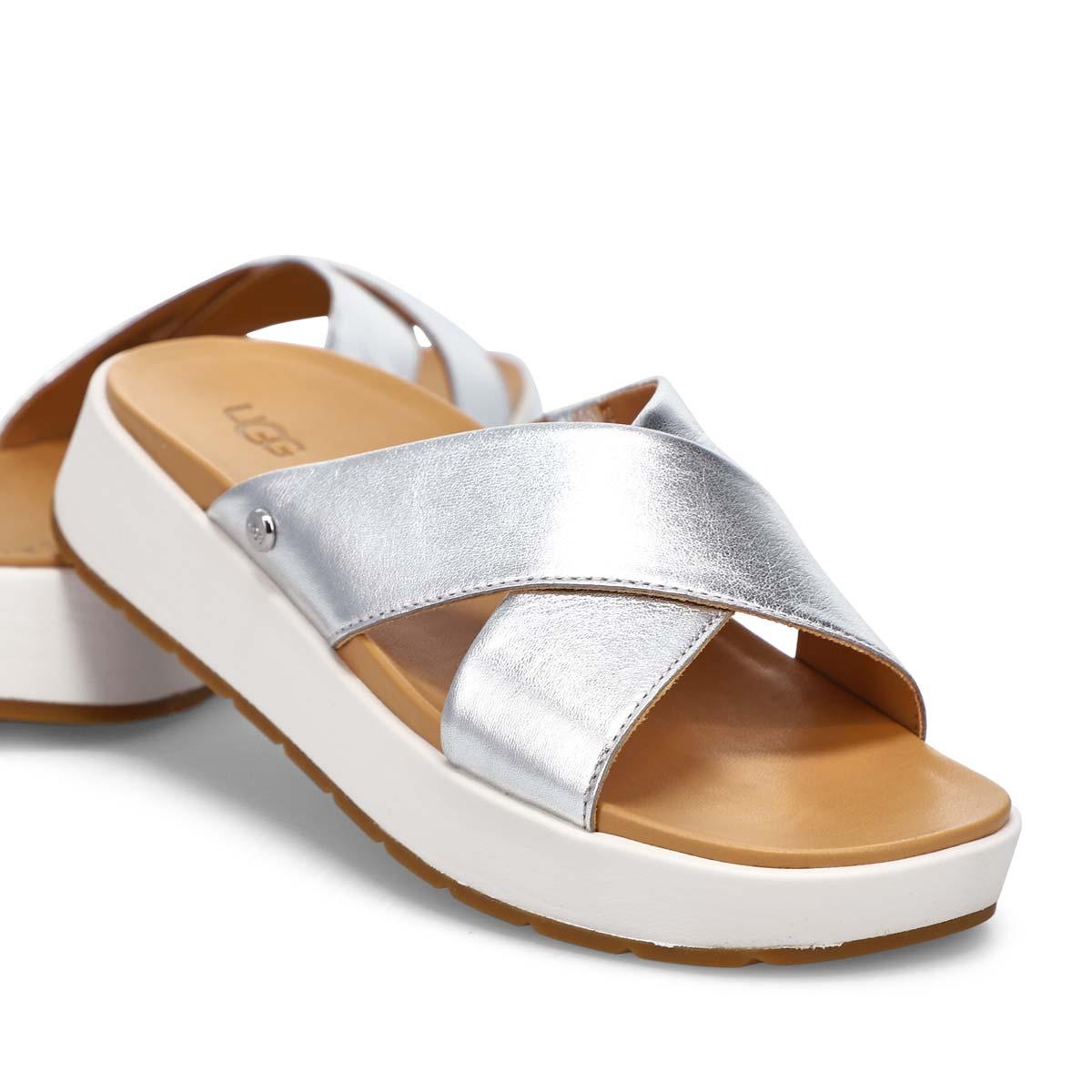 Women's Emily Slide Sandal - Metallic Silver
