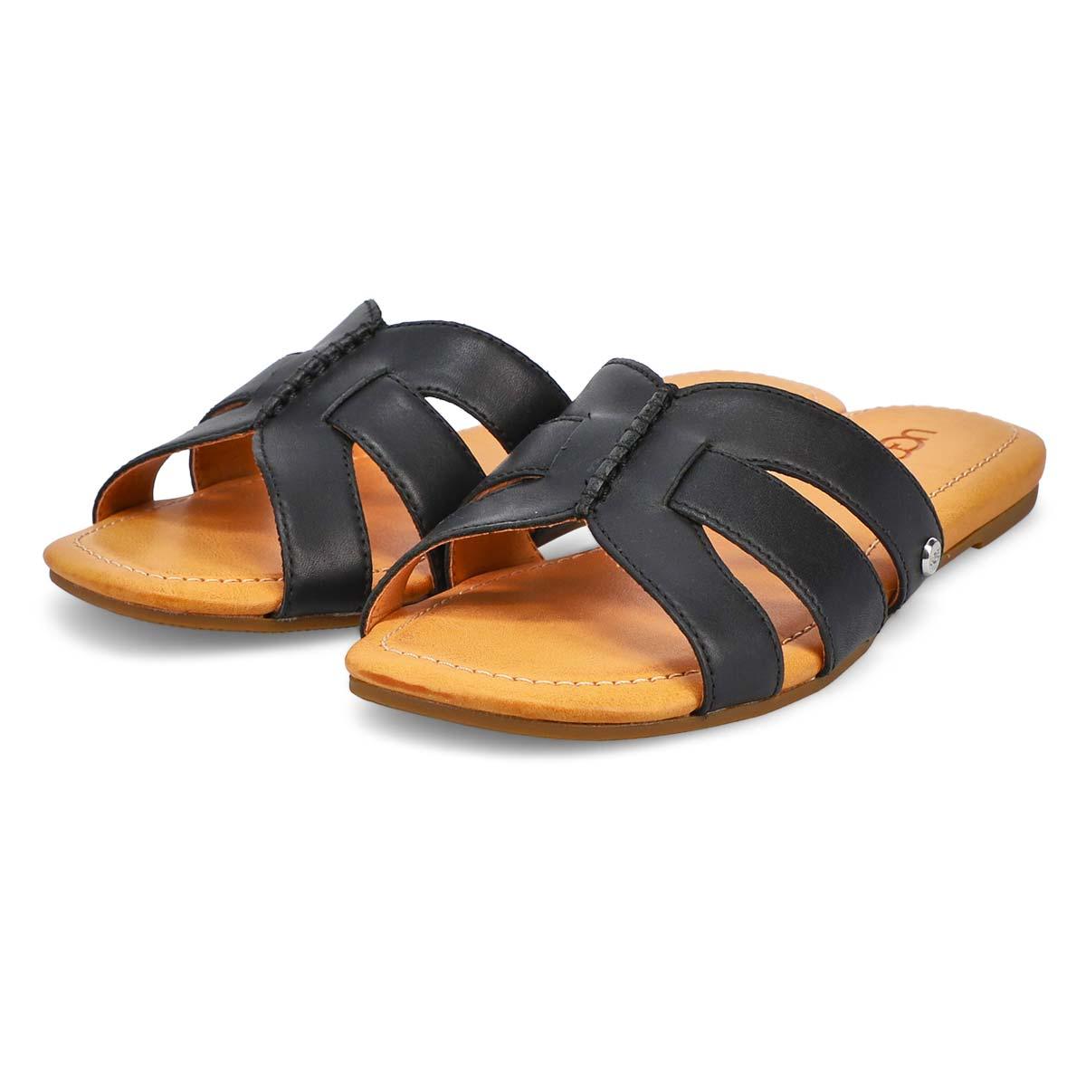 Women's Teague Slide Sandal - Black