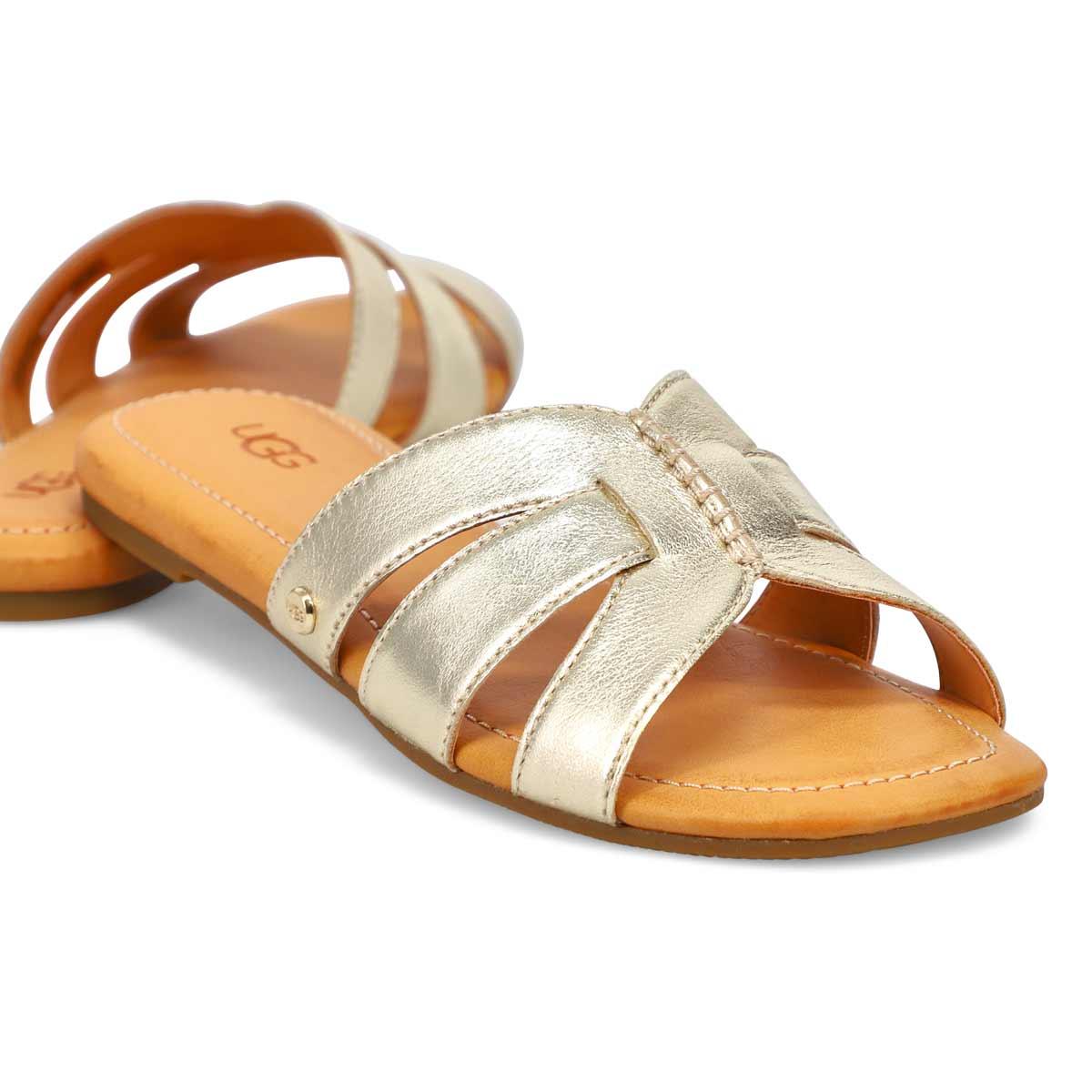 Women's Teague Slide Sandal - Metallic Gold