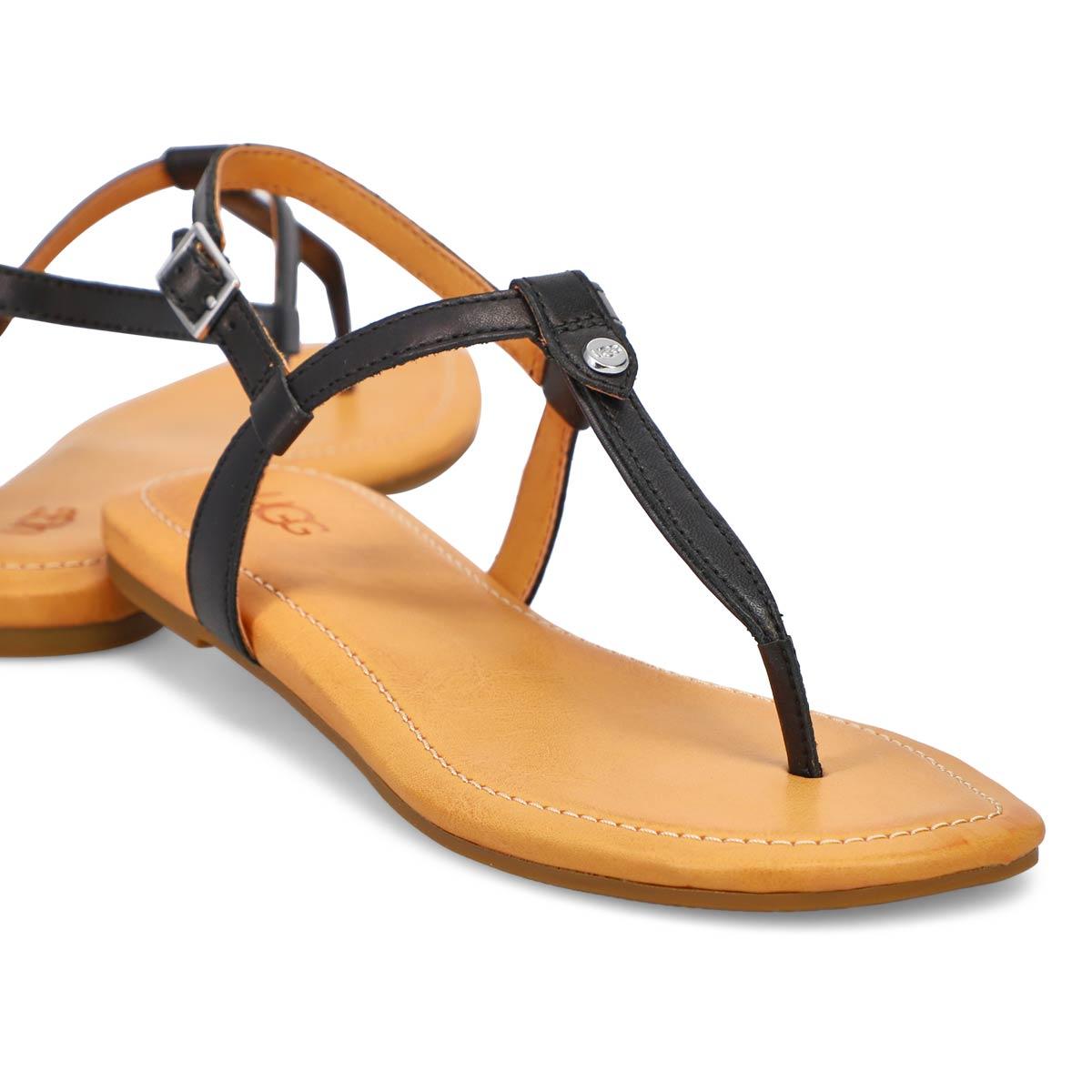 Women's Madeena Thong Sandal - Black