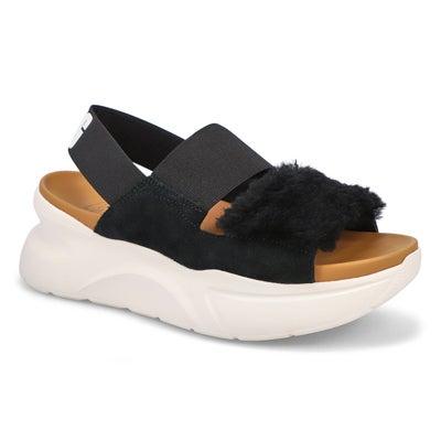 Lds Silverlake II black casual sandal