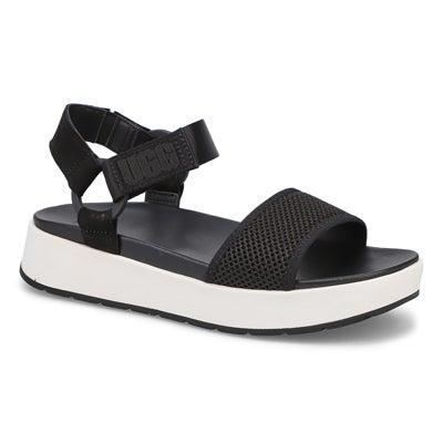 Lds Aissa black casual sandal