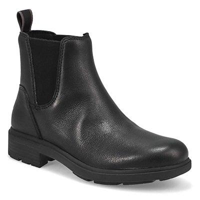 Lds Harrison Chelsea Wtpf Boot- Black