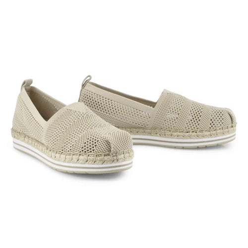 Lds Bobs Breeze natural slip on