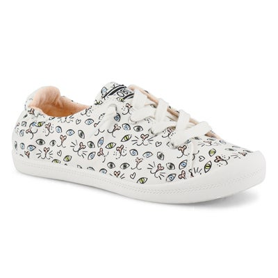 Women's BOBS BEACH BINGO slip on sneakers
