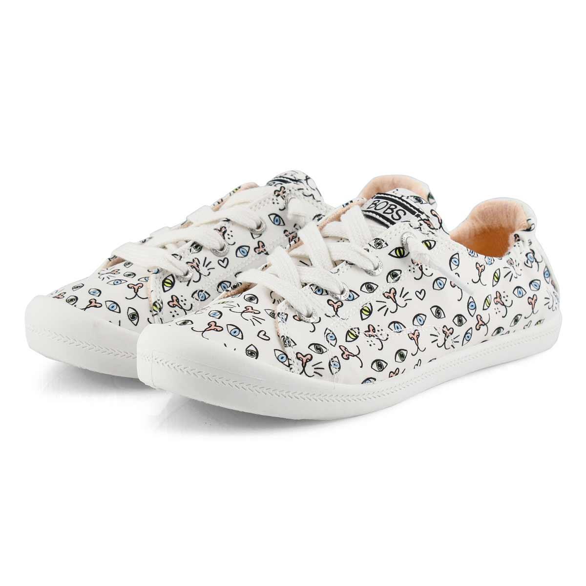 Women's Bobs Beach Bingo Sneaker - White/Multi