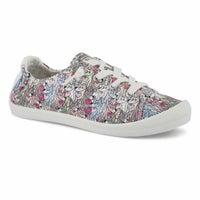 Lds BobsBeachBingo white multi slip-on sneaker