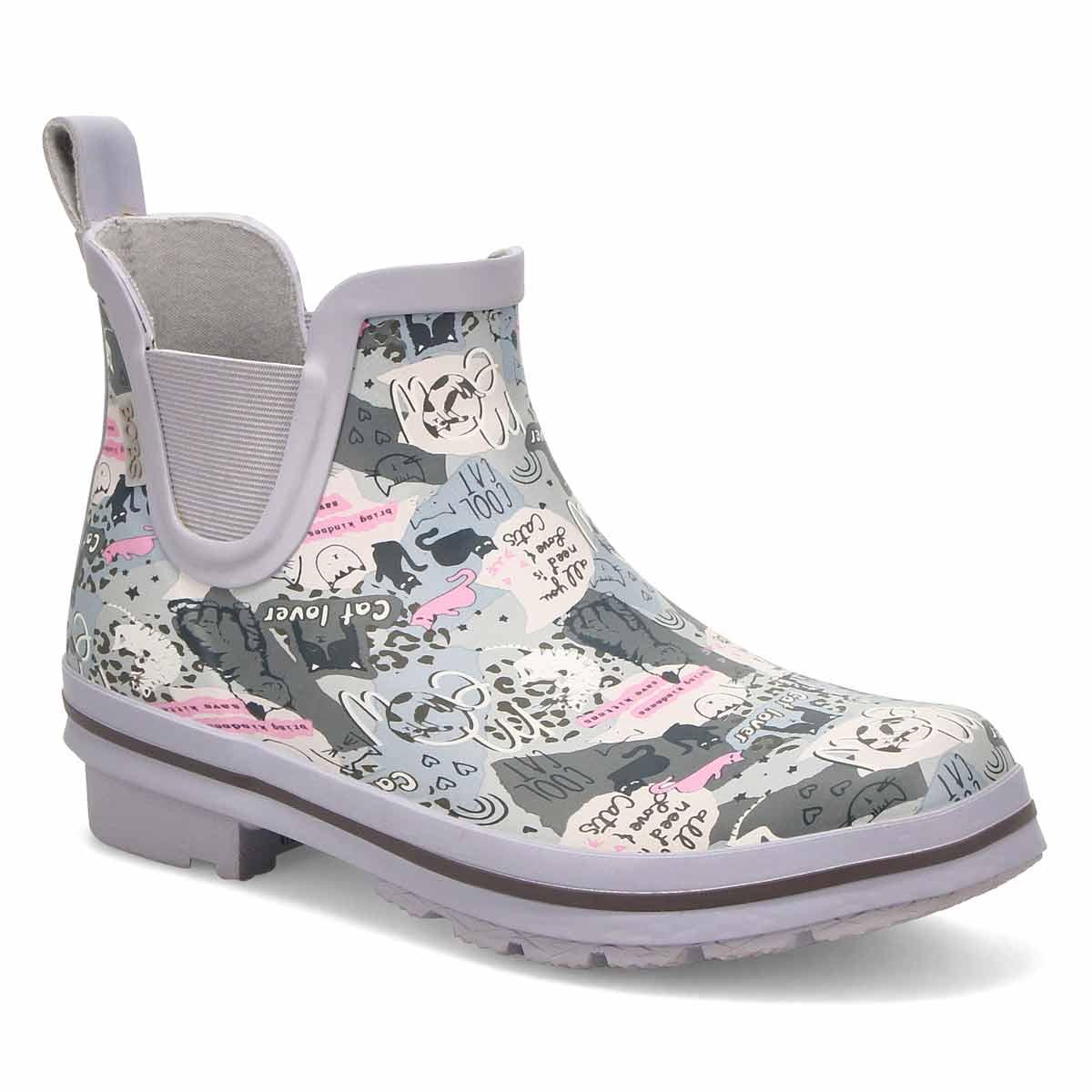 Women's Rain Check Chelsea Rain Boot - Grey/Multi