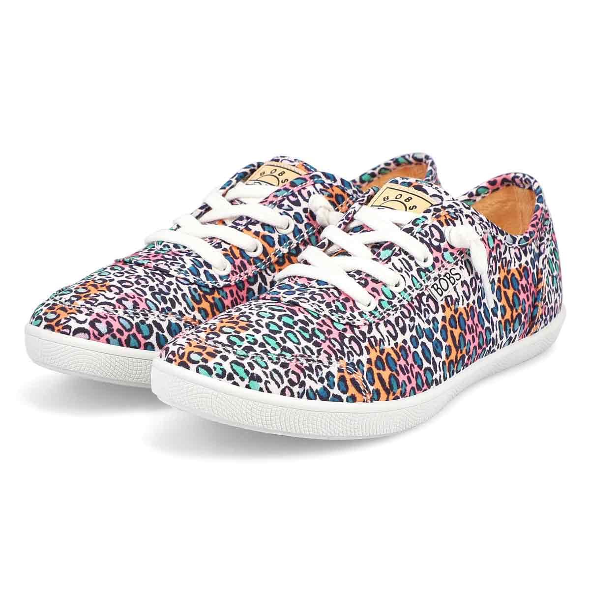 Women's Bobs B Cute Sneaker - Multi/Leopard