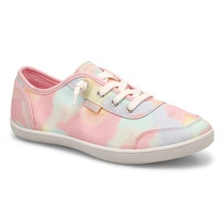 Lds Bobs B Cute pnk/mlti lace up sneaker