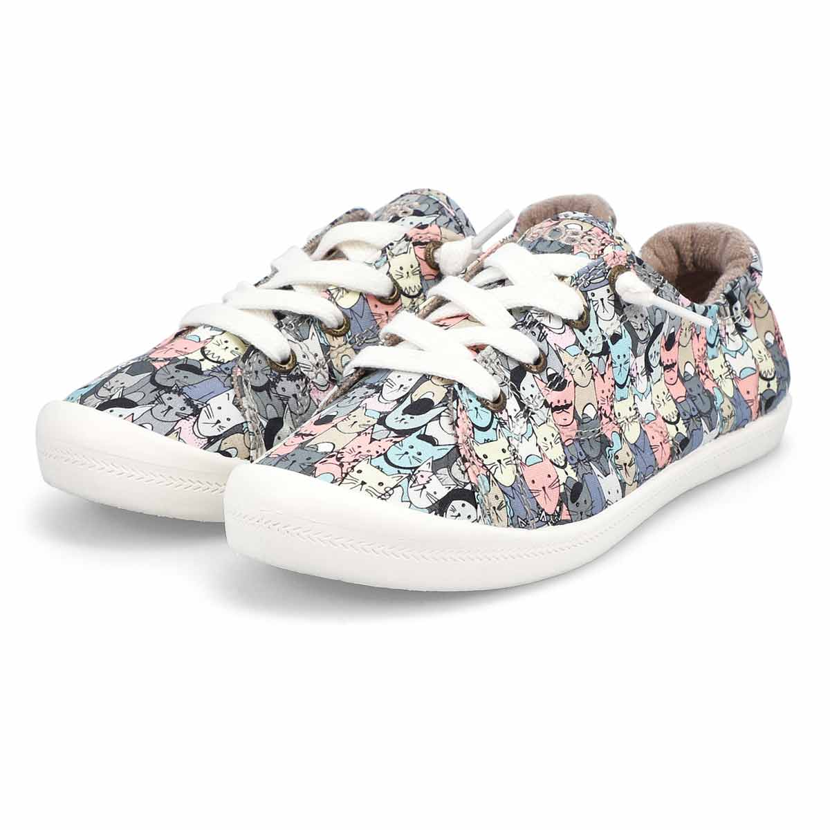 Women's Bobs Beach Bingo Mellow Cat Sneaker