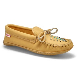 Lds natural double padded sole moccasin
